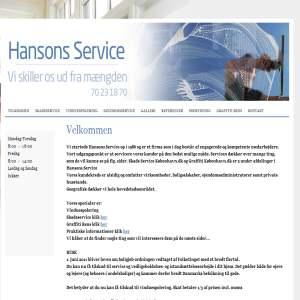 Hansons Service & Vinduespolering
