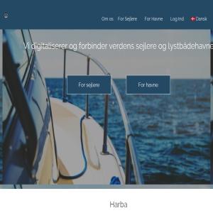 Harba - Booking og betaling af havnepladser