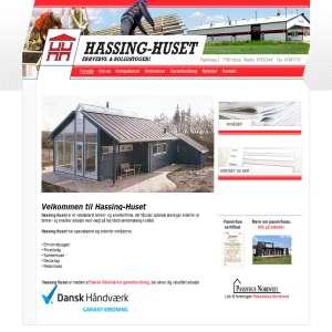 Hassing-Huset Erhvervs & boligbyggeri ved Hurup