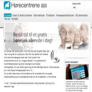 Hørecentrene a/s - Hørecentre med moderne høreapparater