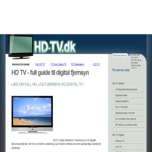HD-TV.dk alt om digital TV