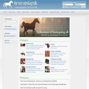 Hesteopslag.dk