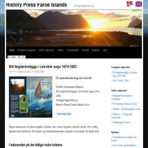 Historiske artikler fra Færøerne