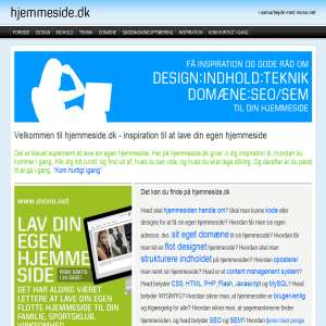 Design hjemmeside