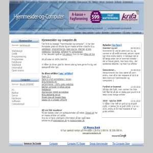 Alt om hjemmesider & computer