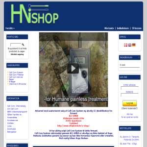 Hugo Nielsen System Shop