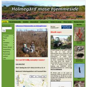 Holmegårds Mose Hjemmeside