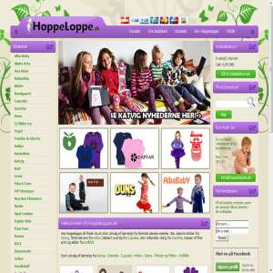 Hoppeloppe.dk - Stilfuldt og lækkert Børnetøj
