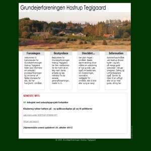 Grundejerforeningen Hostrup Teglgaard