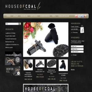 Houseofcoal.dk - Ekspert i produkter med kul