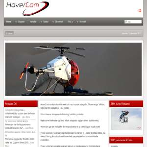 Hovercam - Luftfoto video og filmproduktion med helikopter