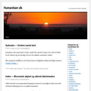 Humanitaer.dk - om nødhjælp og humanitært arbejde