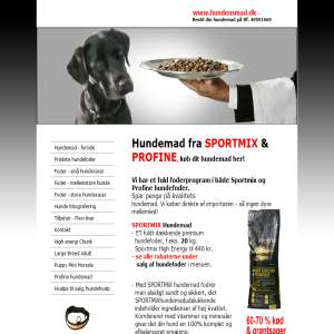 Hundensmad - Sportmix