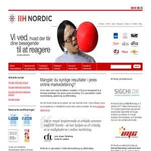 IIH Nordic Online markedsføring