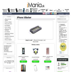 iMania.dk - Billigt iPhone tilbehør