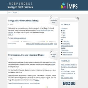 iMPS.dk - Sparetips til din printer!