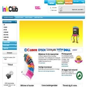 Inkclub.com - Blækpatroner & Laserpatroner