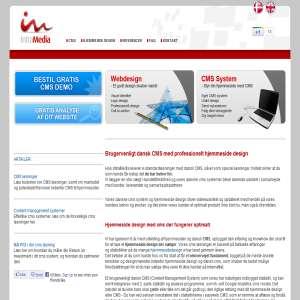 Intramedia - CMS hjemmeside