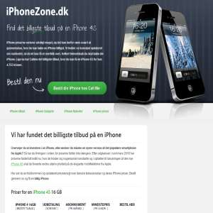 iPhoneZone - få en iPhone billigst muligt