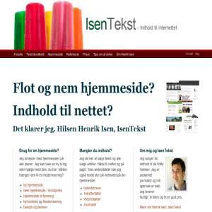 Tekst til net og tryk - Henrik Isen