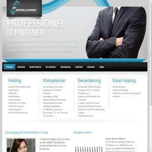 IT Operators Professionelt IT konsulent hus.