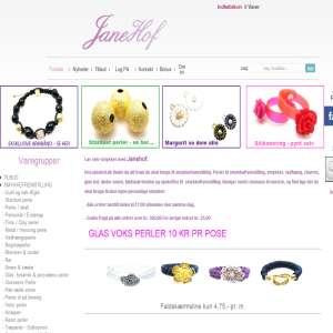 Janehof.dk - Smykkematerialer