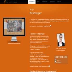 Webdesign af Jacob LC