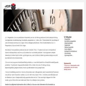 JCP Pengeskabe