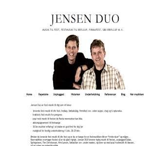 Jensen Duo, musik til fest
