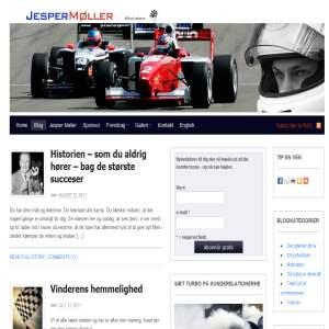 Racerkører Jesper Møller