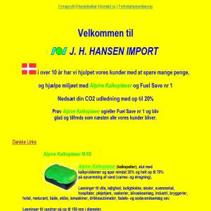 J. H. HANSEN IMPORT