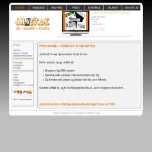 Jmnet.dk Webdesign og webhotel