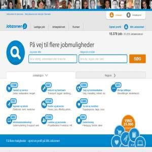 Jobzonen - Job i det private & offentlige, CVer