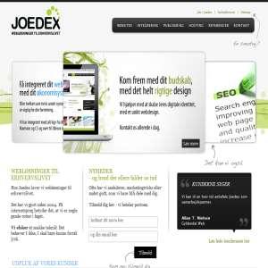 JoeDex - Webløsninger til erhvervslivet