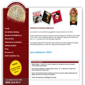Lej en jukebox | Jukeboks-udlejning.dk
