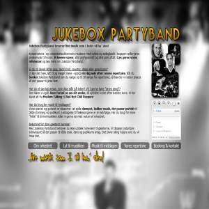 Jukebox Partyband - live musik som I vil ha
