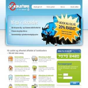 JunkBusters – Affald, Storskrald, Genbrug, Skrald