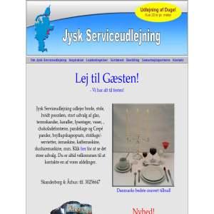 Jysk Serviceudlejning - Lej til Festen!