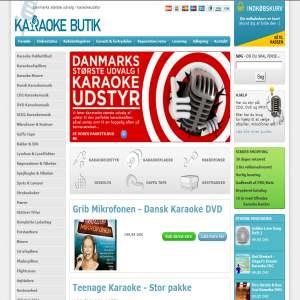 KaraokeButik.dk - Karaoke & DJ udstyr