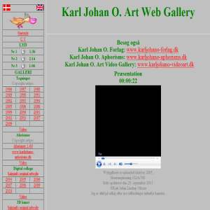 Karl Johan O. Art Web Gallery