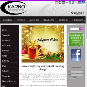 Karno.dk - Accessories til mænd og drenge