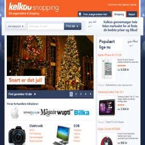kelkoo.dk - Shop søgning