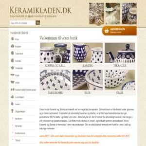 Kvalitets Keramik fra Keramik-Laden