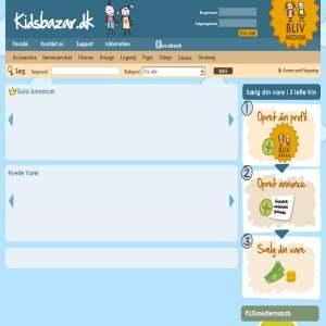Kidsbazar - Din genvej til en god handel