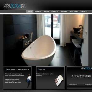Kiradesign.dk - Tegn dit badeværelse