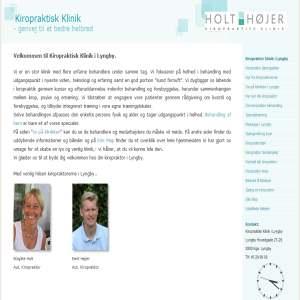 Kiropraktisk klinik i Lyngby