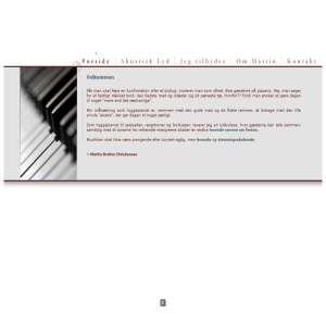 Musik til fest af hyggepianist Martin Brehm. Den stilfulde og afstemte underholdning til fest.