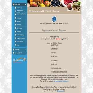 Klinik Chiron | Zoneterapi & Massage | Helse | For din velvære tilbyder Klinik Chiron zoneterapi ...
