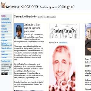 Klogeord - Satirisk Netavis
