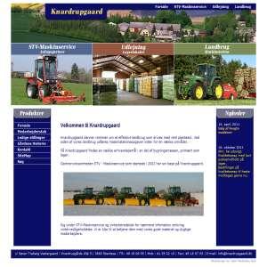 STV-Maskinservice på Knadrupgaard, tilbyder udlejning af lagerlokaler